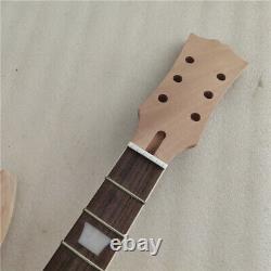 1 Set DIY Guitar Mahogany Body Unfinished Electric Guitar Kit