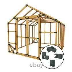 10 Ft. W X 12 Ft. D Custom Diy Storage Shed Kit By E-Z Frames