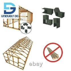 10 Ft. W X 20 Ft. D Custom Diy Storage Shed Kit By E-Z Frames