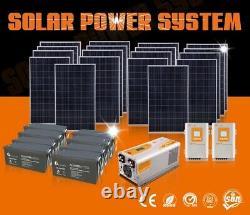 10KVA 110VAC/220VAC solar energy solar panel solar power system home DIY KIT
