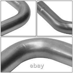 16Pcs 2.5 DIY Custom Steel Exhaust Tubing Pipe Replacement Straight & Bend Kit