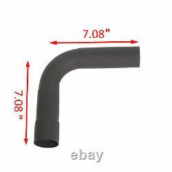 16pcs 2.25od Diy Custom Exhaust Tubing Mandrel Bend Pipe Straight & U-bend Kit