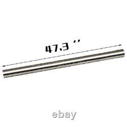 16pcs 2.5 Stainless Steel DIY Custom Mandrel Exhaust Pipe Straight & Bend Kit