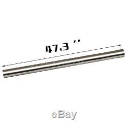 16pcs 3od Steel Diy Custom Mandrel Exhaust Tubing Pipe Straight & Bend Kit