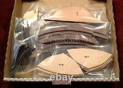 18 Wood Floor Inlay 233 Piece Marlin Fish Medallion kit DIY Flooring Table Box