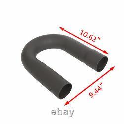 2.25 DIY Custom Exhaust Tubing Mandrel Bend Pipe Straight & U-Bend Steel Kit