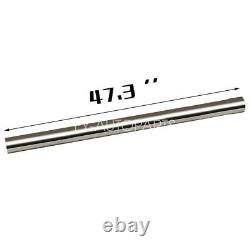 2.5 Stainless Steel T-304 DIY Custom Mandrel Exhaust Pipe Straight & Bend Kit
