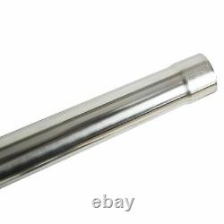 2.5 T304 Stainless Steel DIY Custom Mandrel Exhaust Pipe Straight & Bend Kit