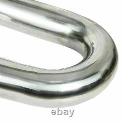 2.5 T304 Stainless Steel DIY Custom Mandrel Exhaust Pipe Straight & Bend Kit