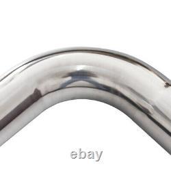 3 inch 76mm Stainless Steel T-304 DIY Custom Exhaust Pipe Straight U-Bends Kit