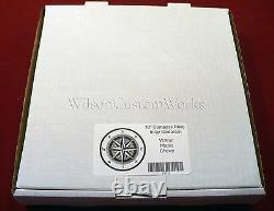 30 Wood Floor Inlay 104 Piece Whale Tail Compass Medallion kit DIY Flooring