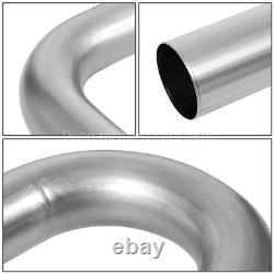 3od Diy Custom Exhaust Pipe Kit 16-pieces Straight & 45 90 Degree & U-bends
