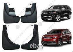 4PCS For Jeep Grand Cherokee 2011-2018 Black Splash Guards Mud Flaps Fenders Kit