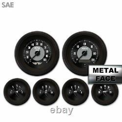 6 Ga. Set withemblem-SAE Amer Clasic Black V, Black Mod Nedl, Black Rngs Kit DIY