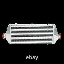63mm 2.5 Polished Turbo Aluminum Pipe Kit DIY + 27 Intercooler for Honda
