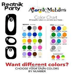 Beatnik Party Room Divider DIY Kits Atomic Retro Mid Century Modern Decor MCM