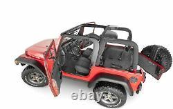 BedRug BRTJ97F Floor Liner Replacement Carpet Kit For 1997-2006 Jeep Wrangler TJ
