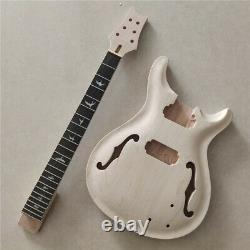 Best 1 Set DIY Electric Guitar Kit Body And Neck 24.75 inch