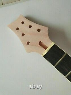 Best 1 set unfinished guitar neck and body electric guitar kit DIY part