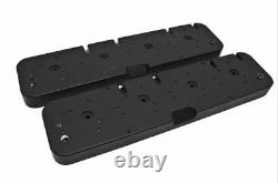 Chevy LS Aluminum Coil Valve Covers Adapter Kit Black 3 Diff Configurations