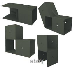 Custom DIY Storage Shed Kit, Fast, Simple, No Cutting, Build Your Own Shed