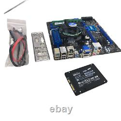 Custom Gaming PC Tower DIY Kit i7-4770 MSI Z87M-G43 8GB 500GB SSD No OS