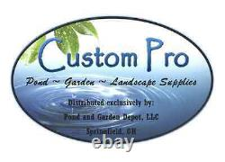 Custom Pro DIY Pondless Waterfall Kit withgrate & 2000 gph pump-Free How To DVD
