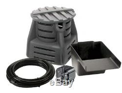 Custom Pro Pondless Waterfall Kit 700gph pump DIY liner hose vault complete