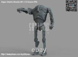Custom Star Wars B2 Battle Droid 2pk DIY Kit Black Series 6 1/12 Inch