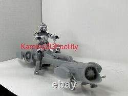 Custom Star Wars Clone Trooper BARC Speeder DIY Kit For Black Series 6 1/12