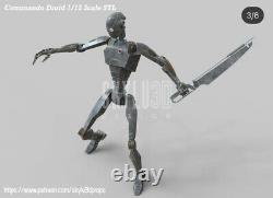 Custom Star Wars Commando Droid 2pack DIY Kit Black Series 6 1/12