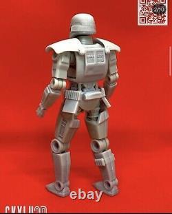 Custom Star Wars Dark Trooper 2pk DIY Kit Black Series 6 1/12
