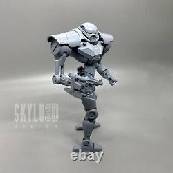 Custom Star Wars Sentry Droid 2pk DIY Kit Black Series 6 1/12