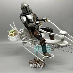 Custom Star Wars Swoop Bike DIY Kit Black Series 6 1/12
