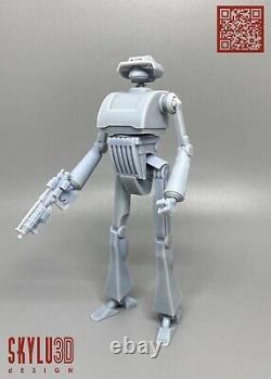 Custom Star Wars Tx Tactical Droid DIY Kit 2pack Black Series 6 1/12