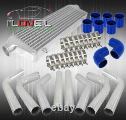 D. I. Y High Quality Light Weight 8 Pcs Aluminum Piping Kit + Jdm Fmic Intercooler