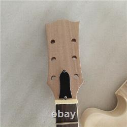 DIY 1 set unfinished guitar neck and body 335 style electric guitar kit