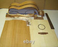DIY Acoustic Handcraft Custom GUITAR KIT-Dreadnought or OM-All solid Wood