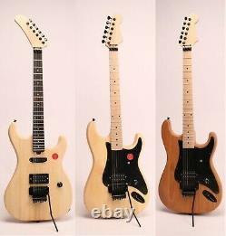 DIY Electric Guitar Kits Alder/Basswood Body Canada Maple Unfinished Guitar