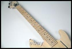 DIY Electric Guitar Kits Basswood ody Canada Maple Banana Headstock
