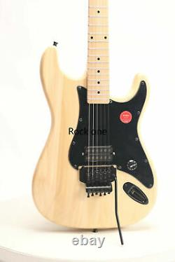 DIY Electric Guitar Kits Unfinished Basswood Body Canada Maple