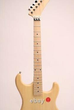 DIY Electric Guitar Kits basswood Body Canada Maple Banana Headstock Unfinished