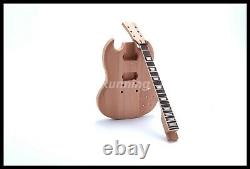DIY Electric Guitar Starshine Kits Standard Style Grover Tuner unfinished