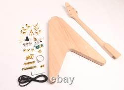 DIY Guitar Electric Guitar Kits Standard Style Mahogany Body Gold Hardware