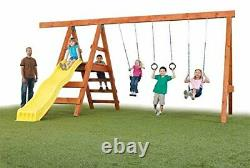 DIY Playground Kit Playset Custom Additional Swing Play Set (Wood not included)