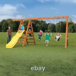 DIY Playground Kit Playset Custom Additional Swing Set Accessories Outdoor Play