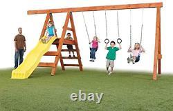 DIY Playground Kit Playset Custom Additional Swing Set Accessories Outdoor Play