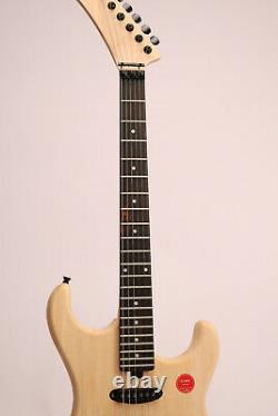 DIY Unfinished Electric Guitar Kit Basswood Body Canada Maple Neck FR Bridge