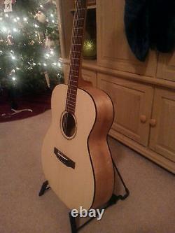 Diy Custom Parlor Guitar Kit Mahogany-spruce Top. All Solid Wood