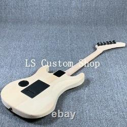 Factory Wholesale ESPS Electric Guitar Kits Basswood Body Unfinished Guitar DIY
